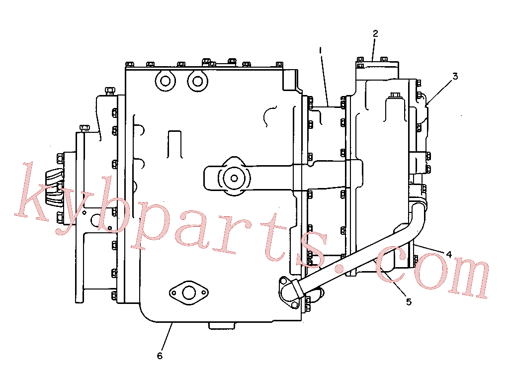 CAT 301-4628 for D6H XL Track Type Tractor(TTT) power train-power transmission unit 3T-4761 Assembly