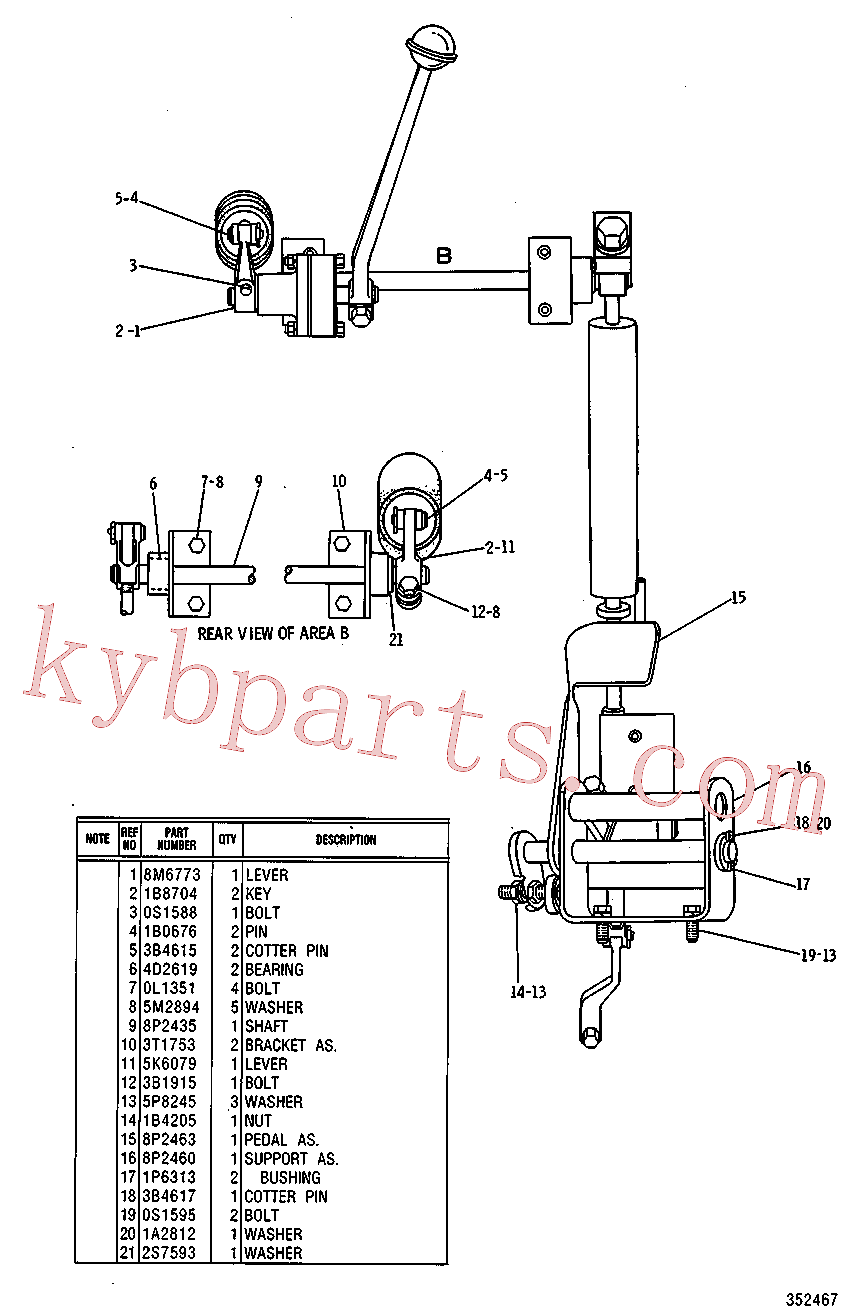CAT 9K-8757 for 4A Bulldozer(TTT) fuel system and governor 8P-2457 Assembly