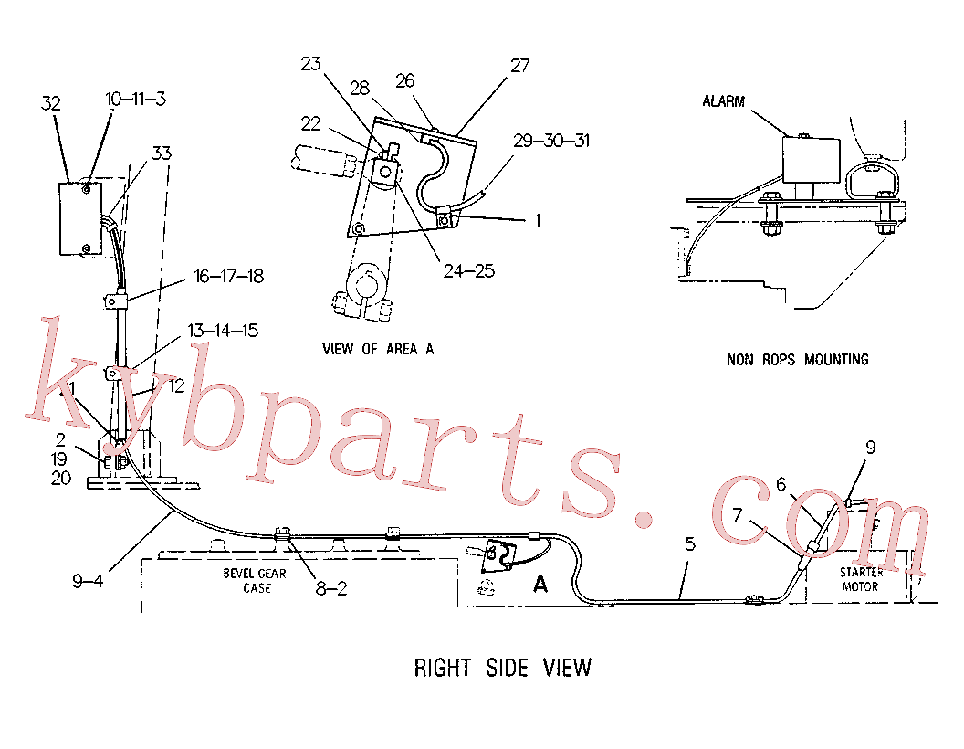 CAT 3J-4278 for 235C Excavator(EXC) electrical system 8P-7435 Assembly