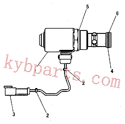 CAT 355-1470 for D9T Track Type Tractor(TTT) hydraulic system 279-6528 Assembly