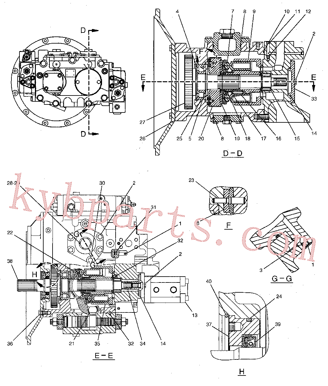 CAT 095-0946 for 326D2 Excavator(EXC) hydraulic system 244-8477 Assembly