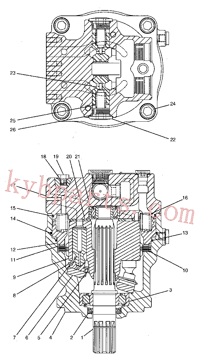 CAT 188-4171 for 324D L Excavator(EXC) hydraulic system 188-4175 Assembly
