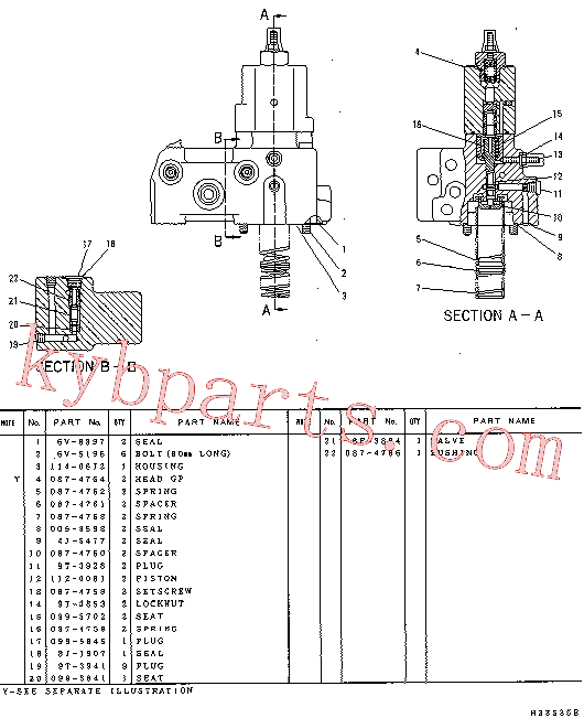 CAT 087-4762 for 322N Excavator(EXC) hydraulic system 114-0670 Assembly