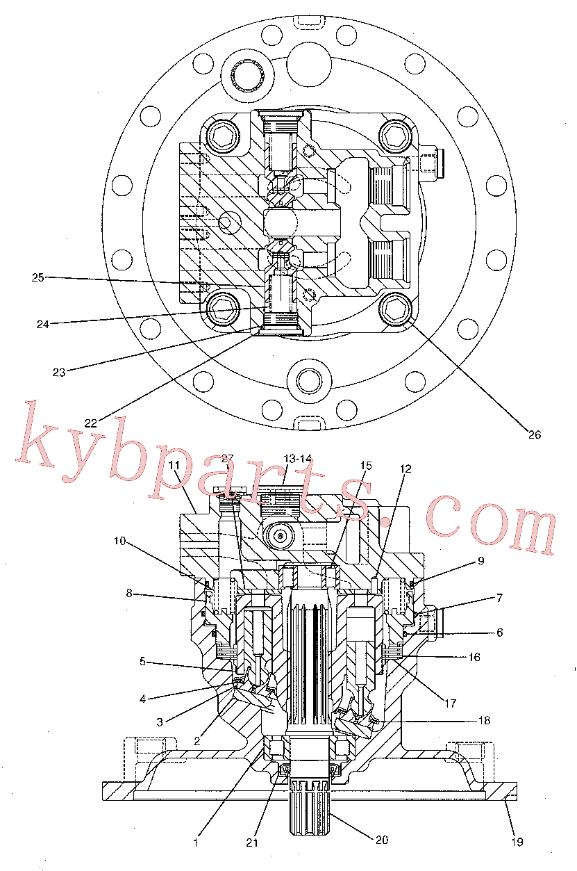 CAT 191-5543 for 320D FM RR Excavator(EXC) hydraulic system 191-5542 Assembly