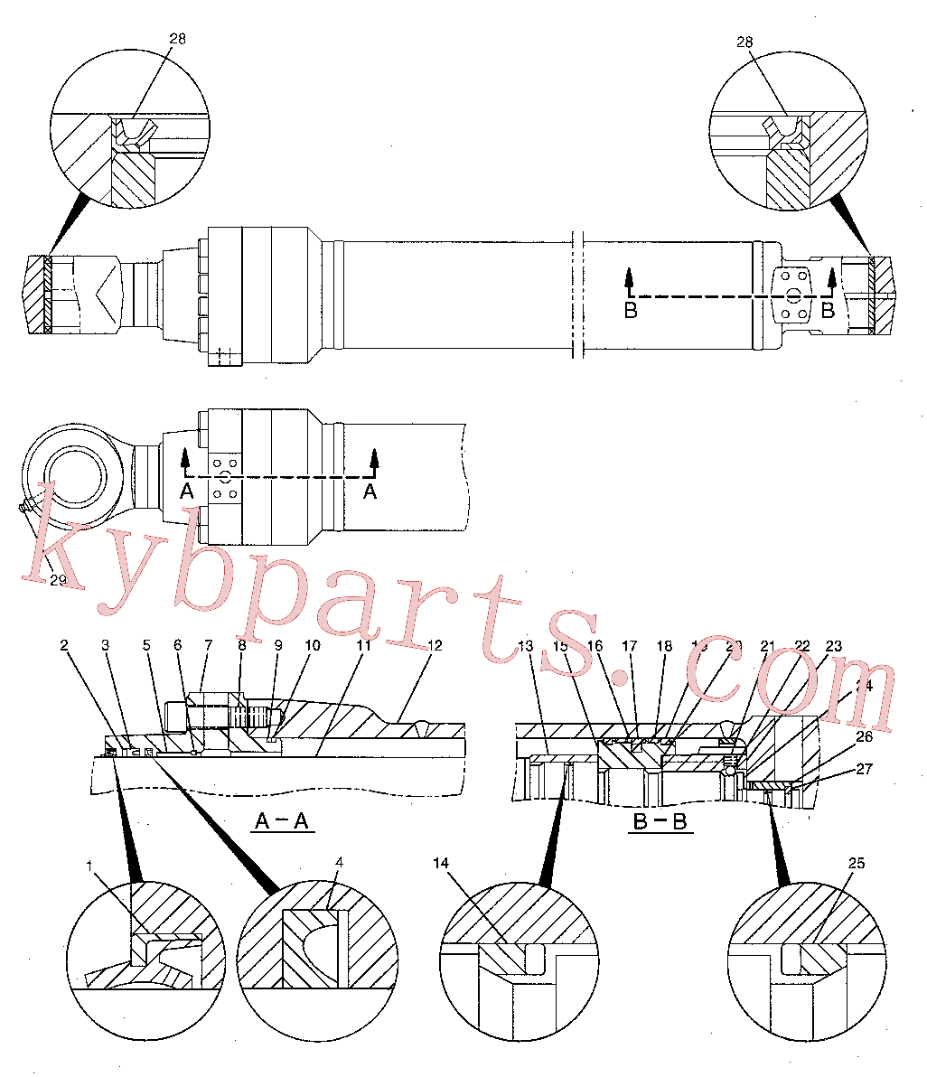 CAT 126-1879 for 321C Excavator(EXC) hydraulic system 204-3615 Assembly