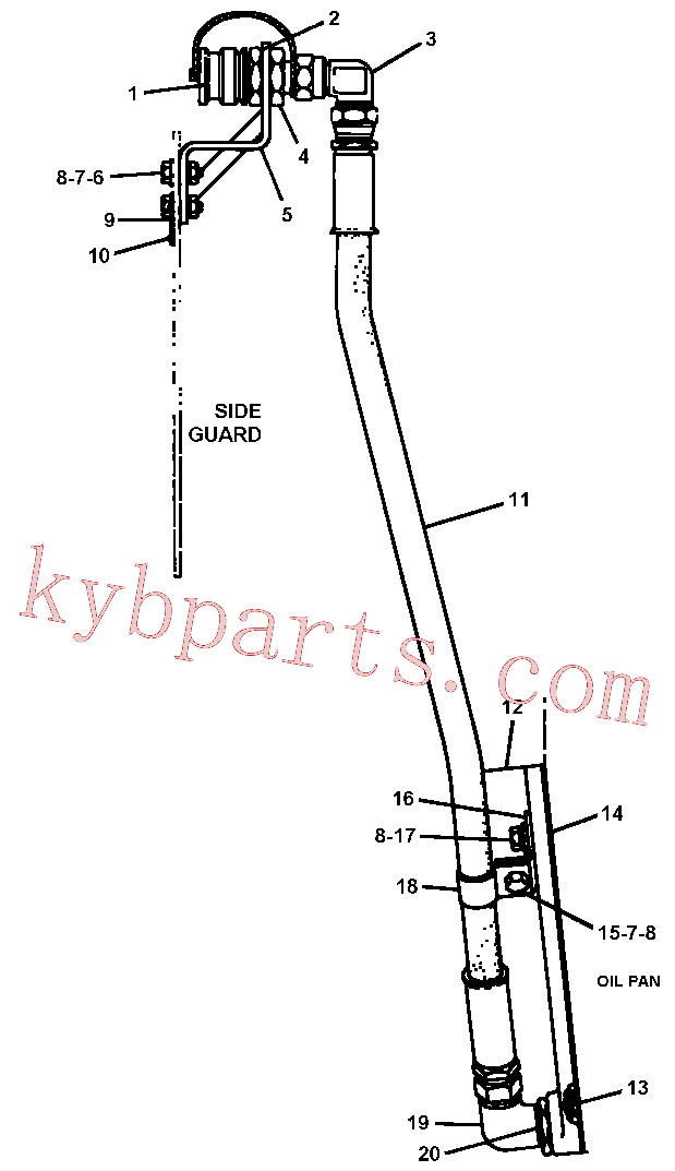 CAT 4B-4278 for 320F L Excavator(EXC) engine related parts 4N-3648 Assembly