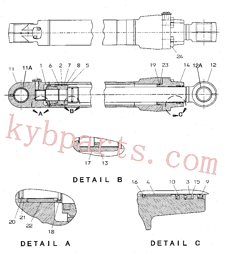 CAT 7Y-4631 for 320D2 L Excavator(EXC) hydraulic system 194-8410 Assembly