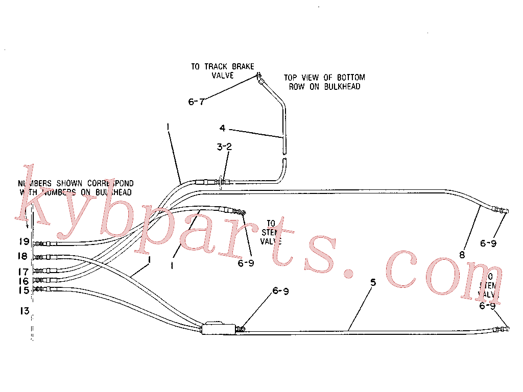 CAT 8J-1751 for 225 Excavator(EXC) hydraulic system 7V-9987 Assembly