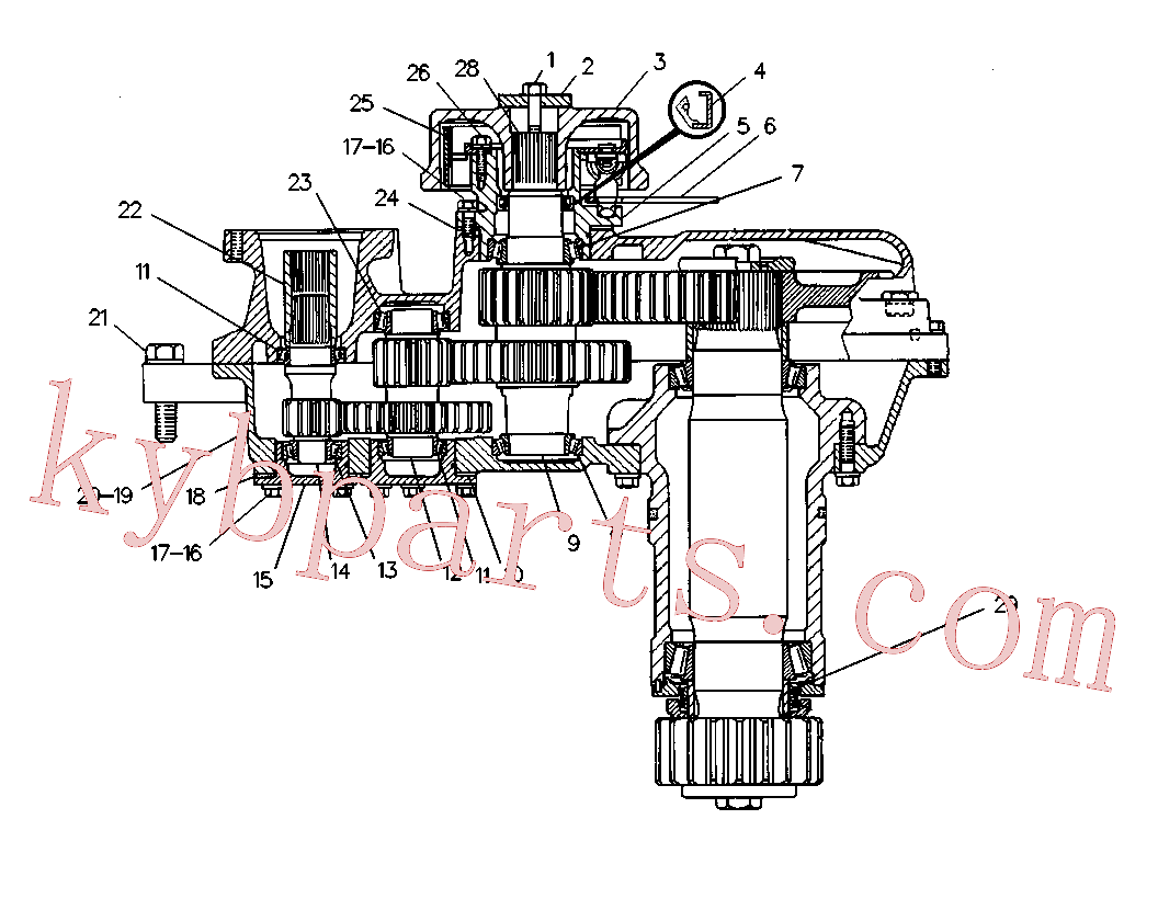 CAT 1D-4326 for 235 Excavator(EXC) power train 6W-2738 Assembly