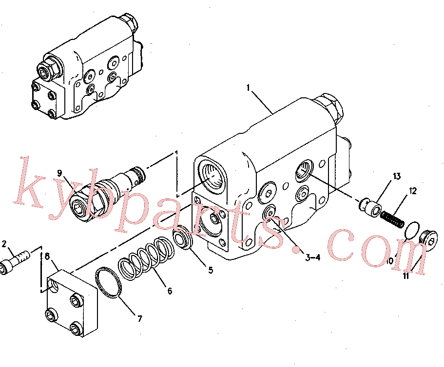 CAT 129-7931 for 320D Excavator(EXC) hydraulic system 137-3718 Assembly
