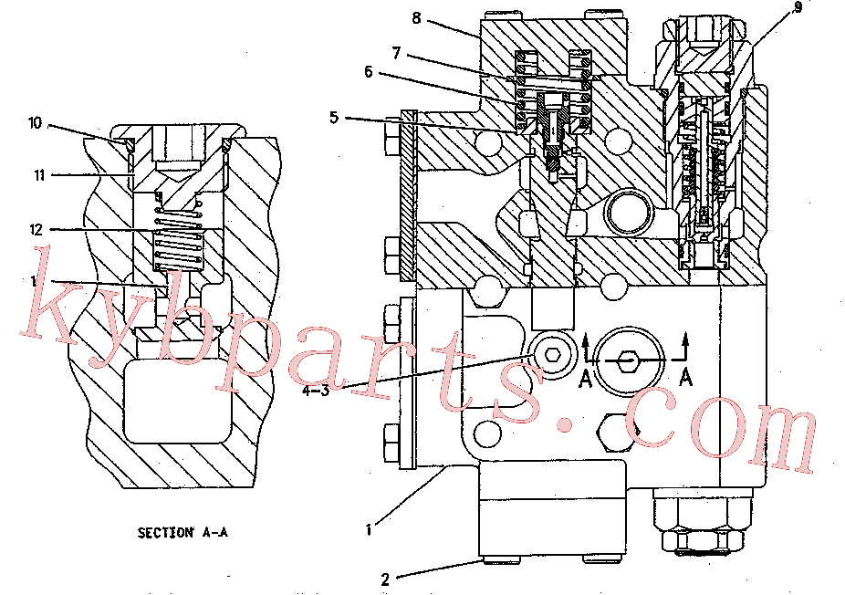 CAT 199-0508 for 311C Excavator(EXC) hydraulic system 199-0504 Assembly