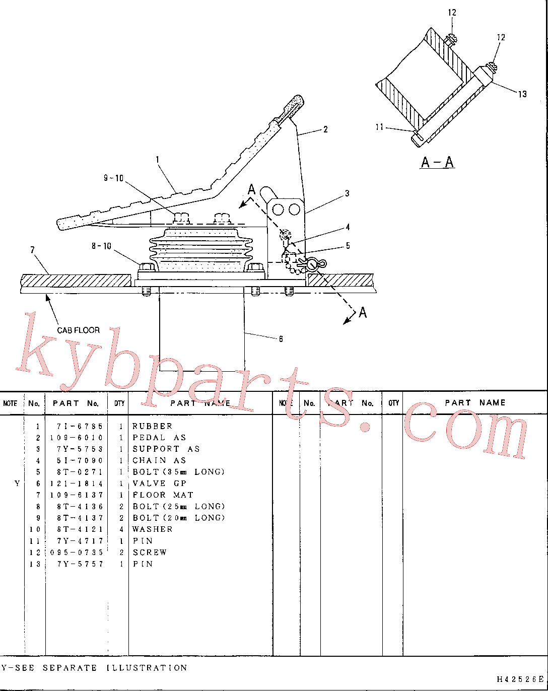 CAT 109-6137 for 315-A L Excavator(EXC) hydraulic system 110-5645 Assembly