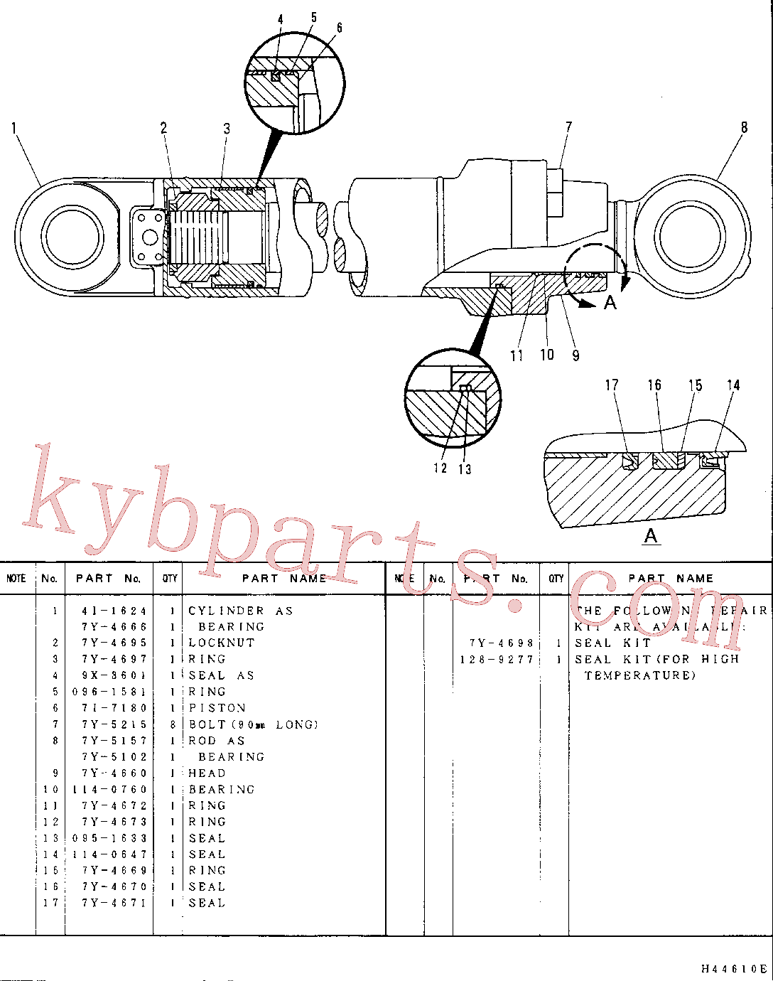 CAT 7Y-5102 for 322-A Excavator(EXC) hydraulic system 7Y-5150 Assembly
