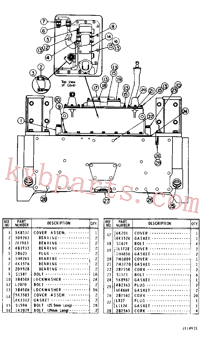 CAT 0L-0827 for D6D Track Type Tractor(TTT) chassis and undercarriage 5K-6171 Assembly