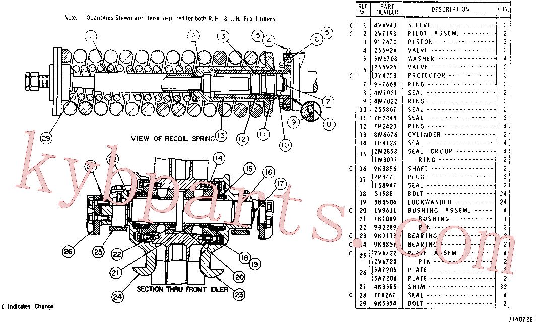 CAT 7F-8267 for 561C Pipelayer(PIPE) chassis and undercarriage 9K-6021 Assembly