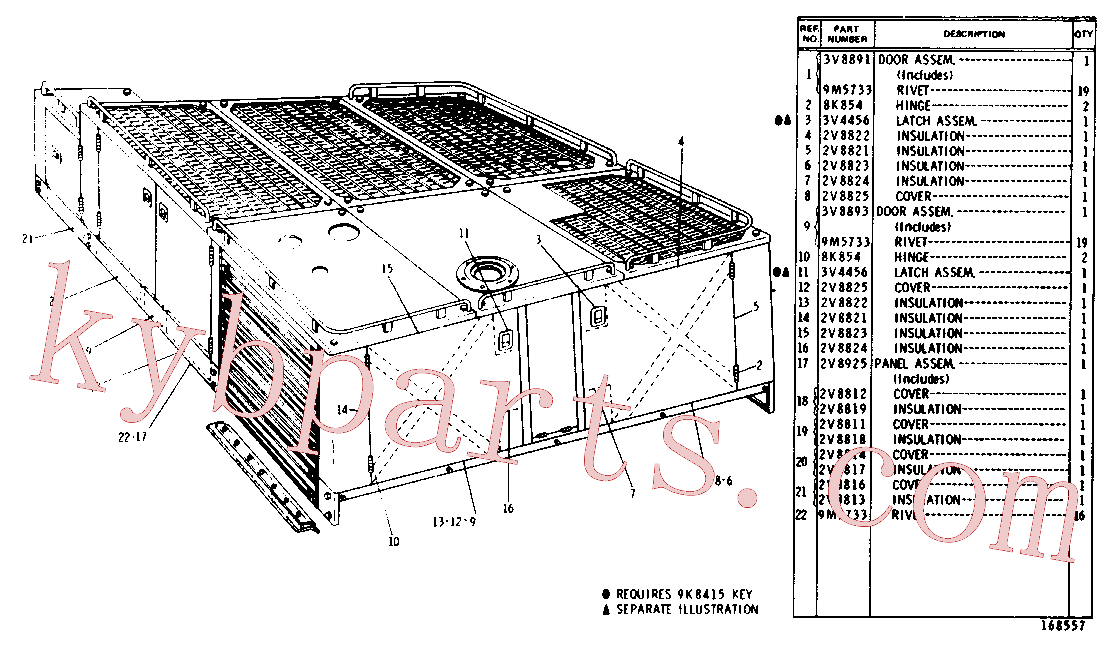 CAT 4D-7735 for 5A Bulldozer(TTT) chassis and undercarriage 3V-8902 Assembly
