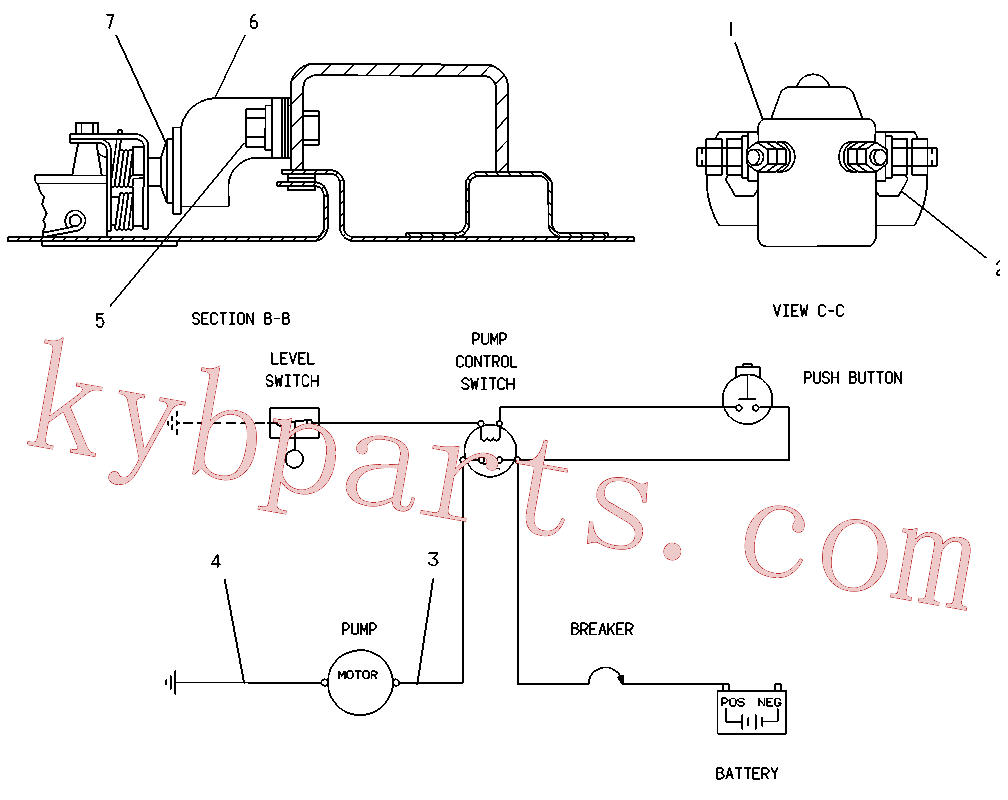 CAT 8S-1815 for 322-A N Excavator(EXC) fuel system and governor 5C-6083 Assembly