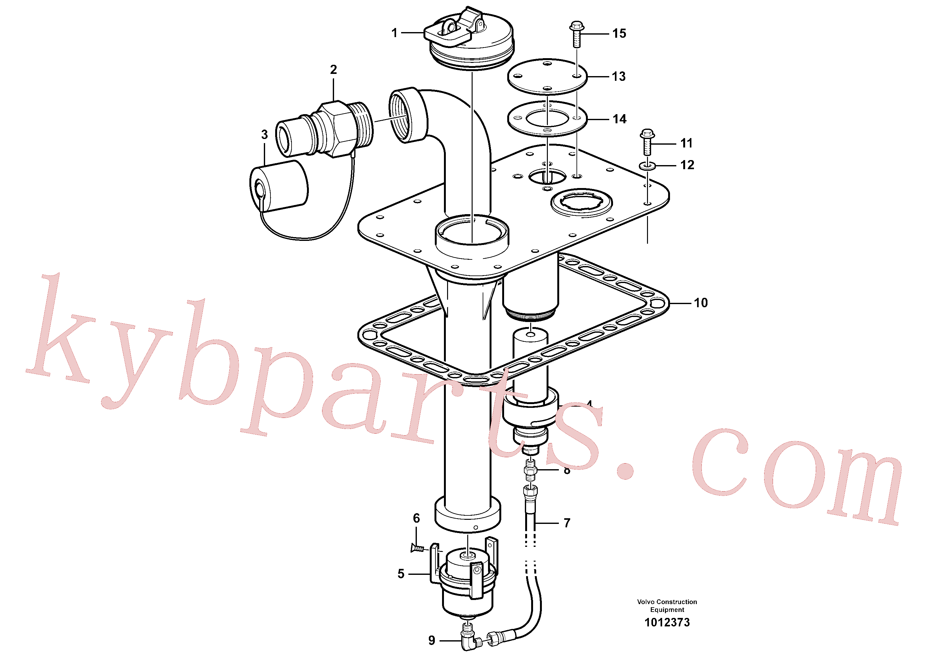 VOE16801897 for Volvo Fast-fill system(1012373 assembly)