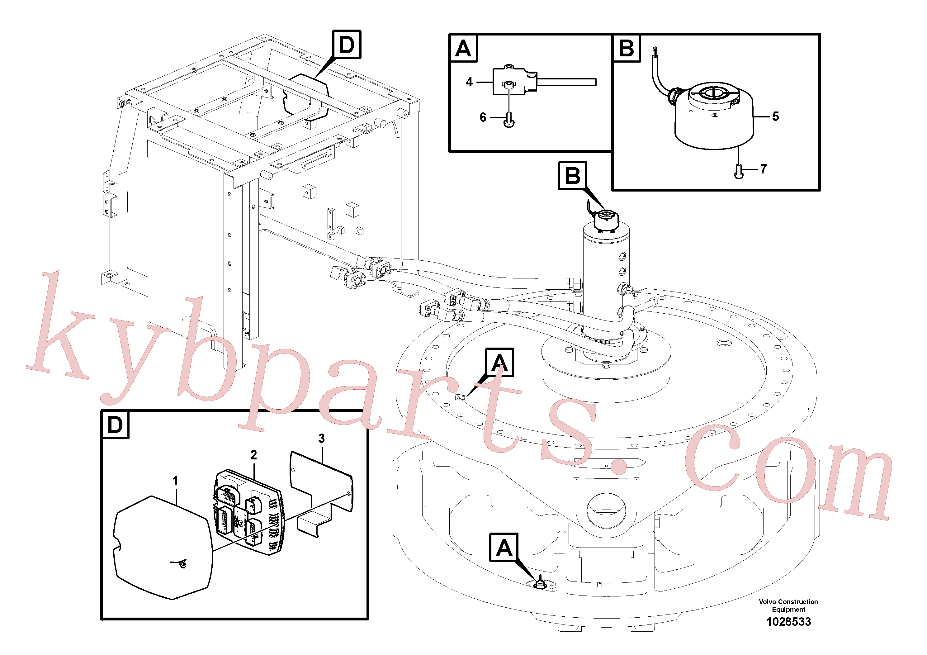 VOE14572458 for Volvo Electronic unit(1028533 assembly)