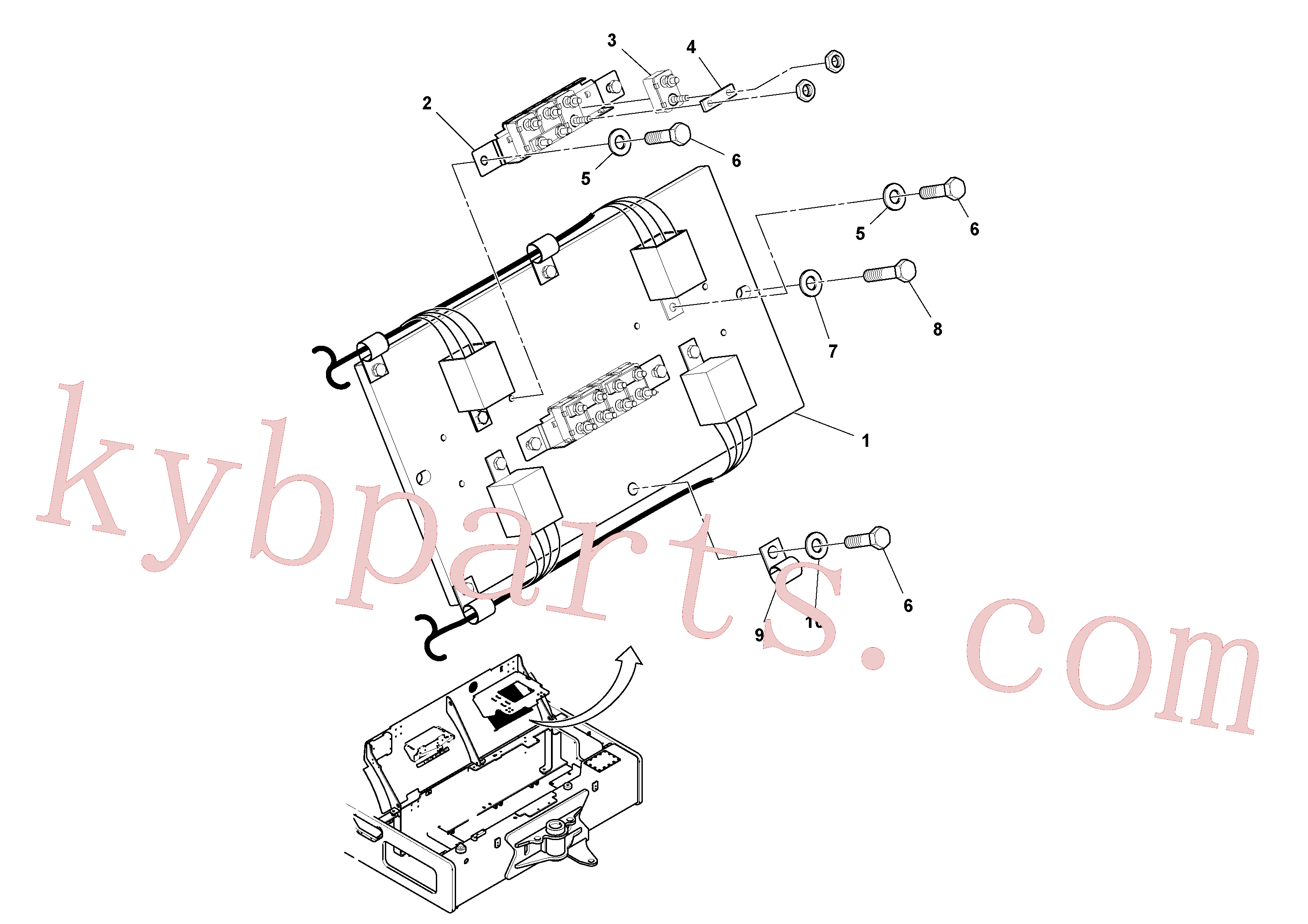 RM59117333 for Volvo Circuit Breaker Assembly - Dual HID Lights(1035863 assembly)