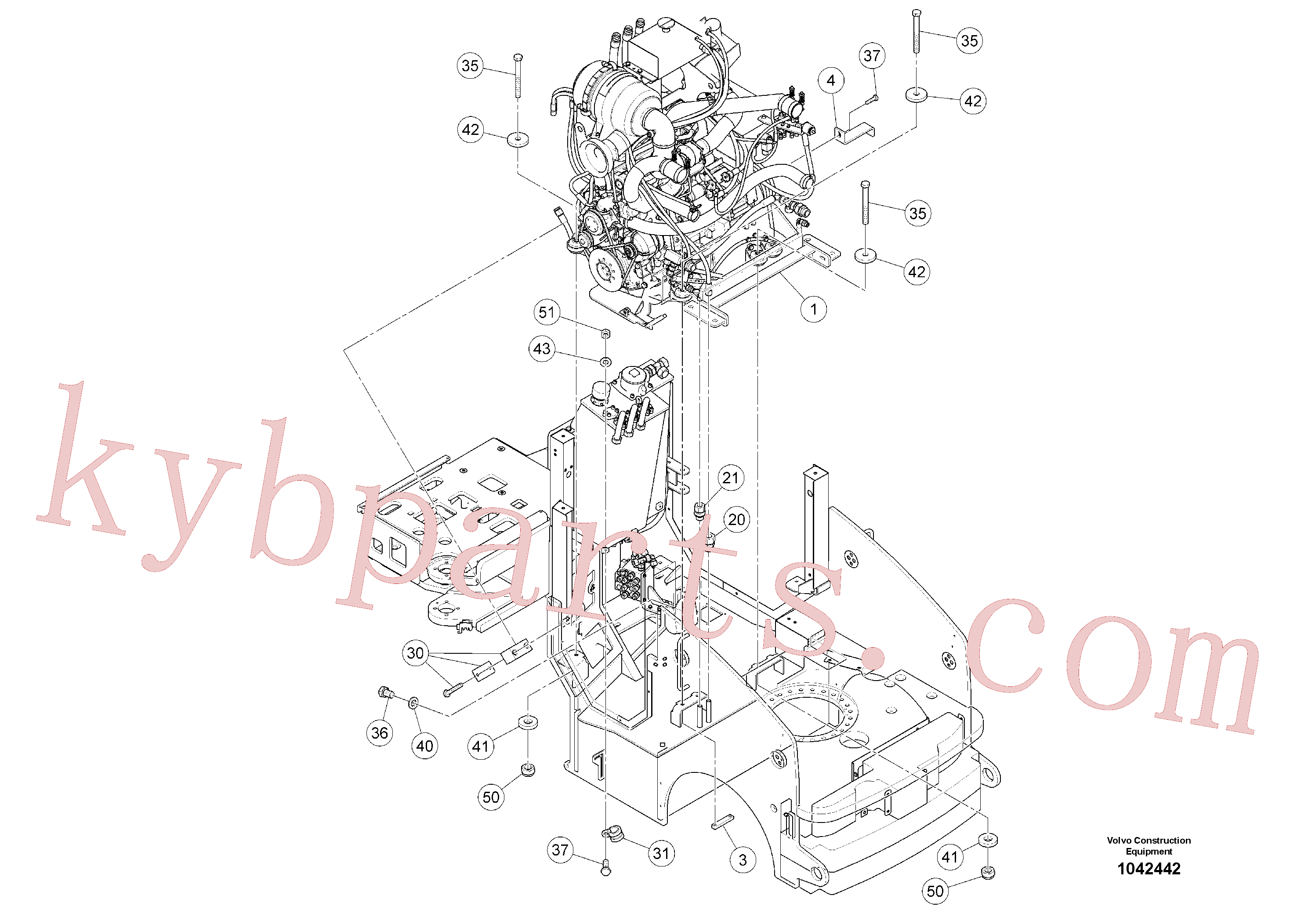 RM96727896 for Volvo Drive Unit(1042442 assembly)