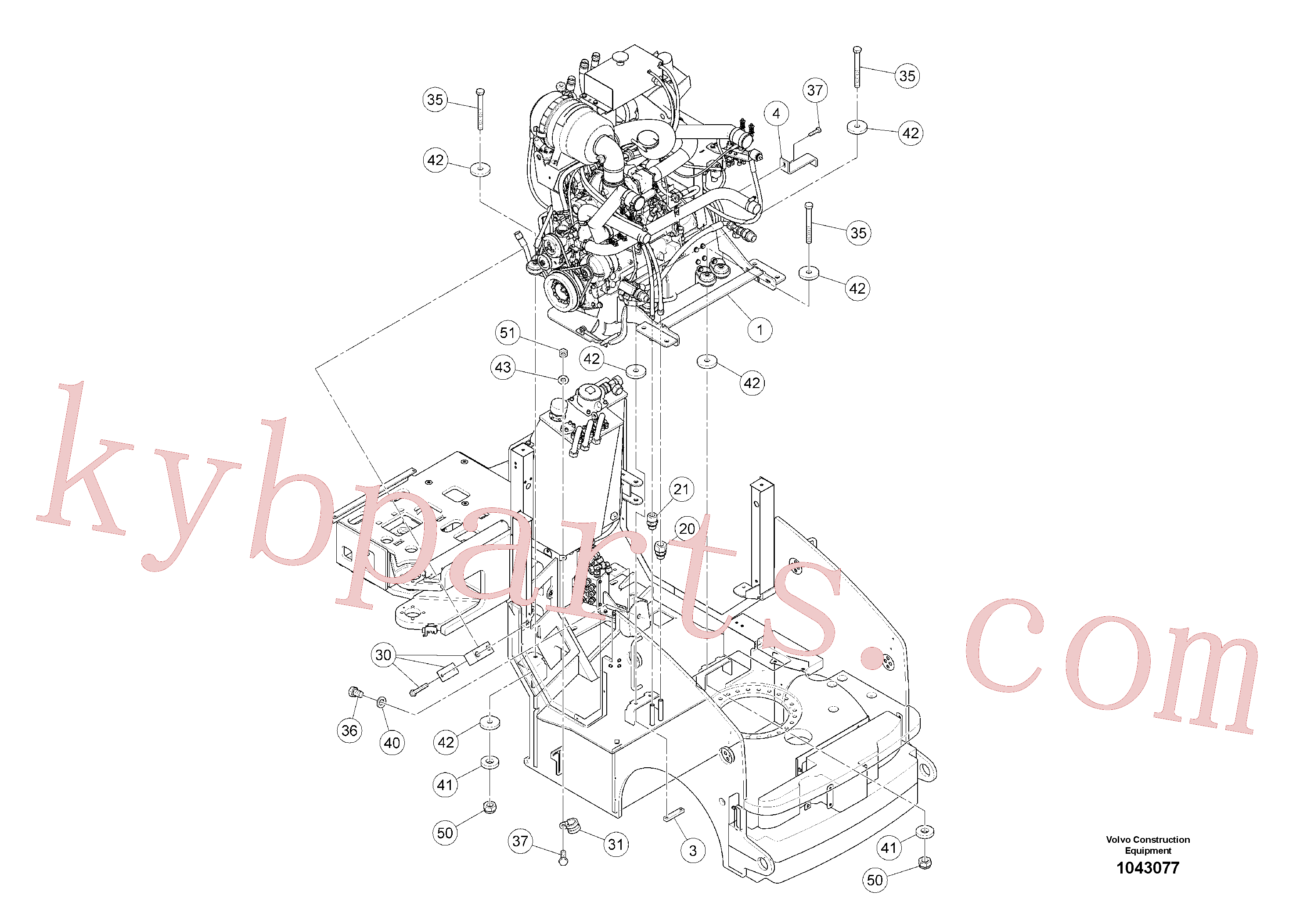 RM96727896 for Volvo Drive Unit(1043077 assembly)