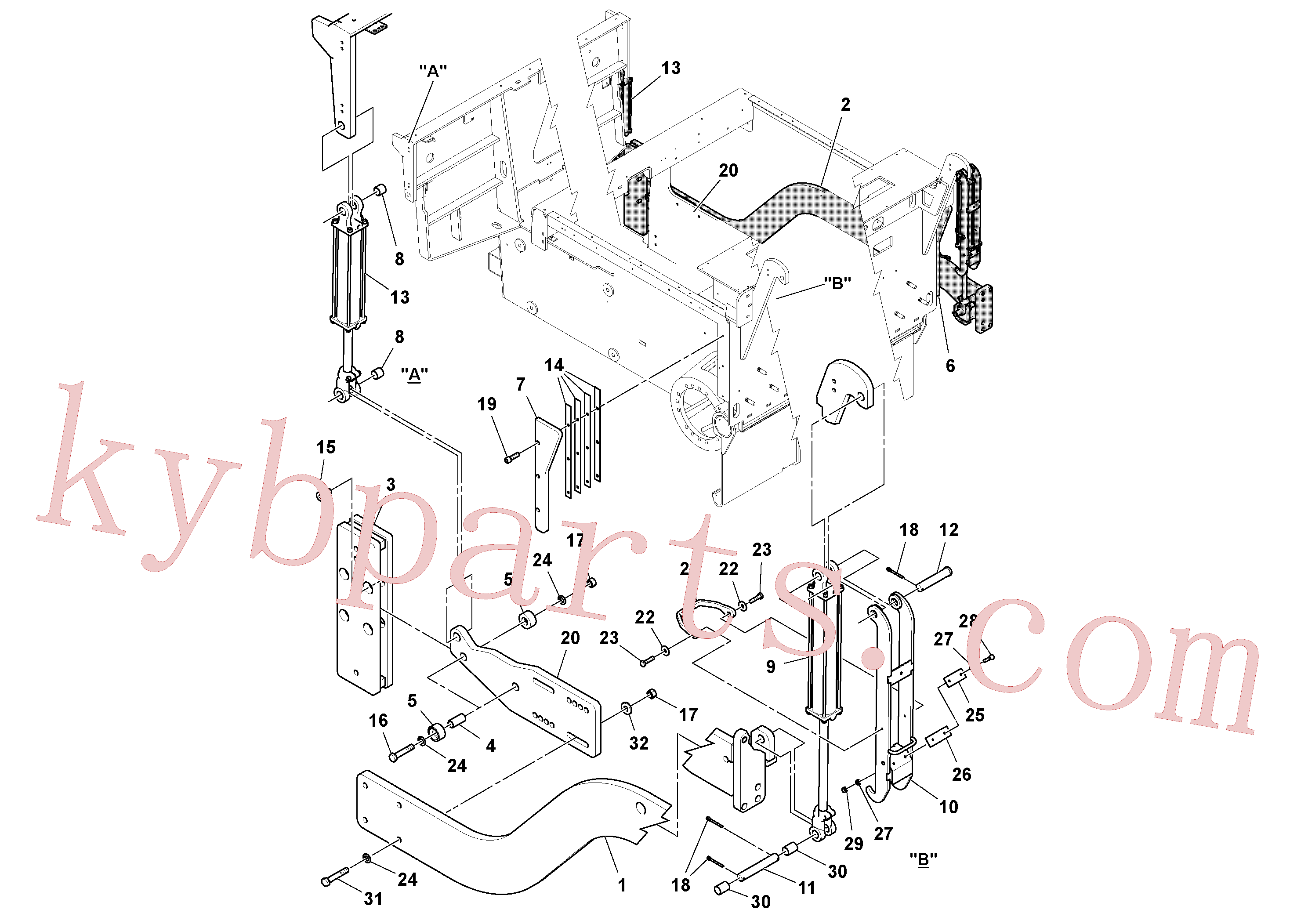 RM96716345 for Volvo Tow Point Installation(1044016 assembly)