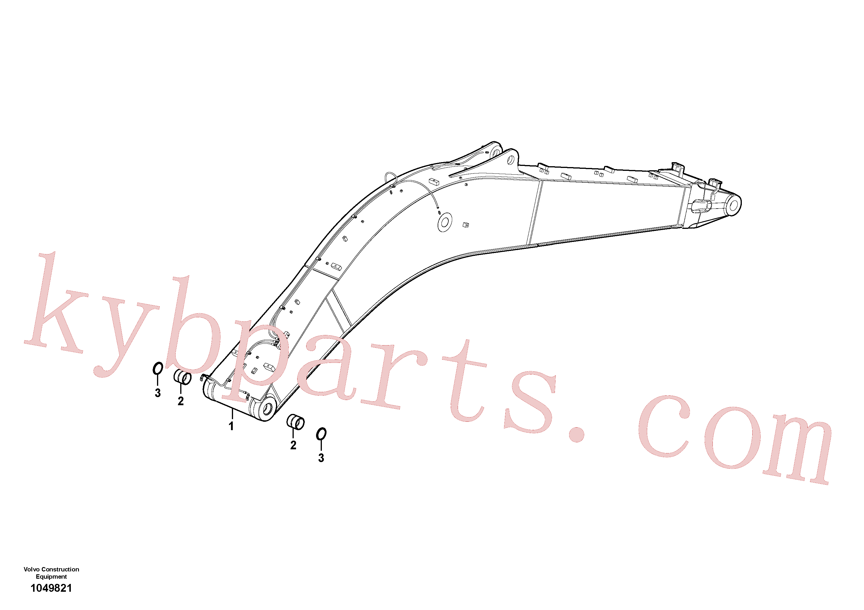 VOE14512446 for Volvo Boom(1049821 assembly)