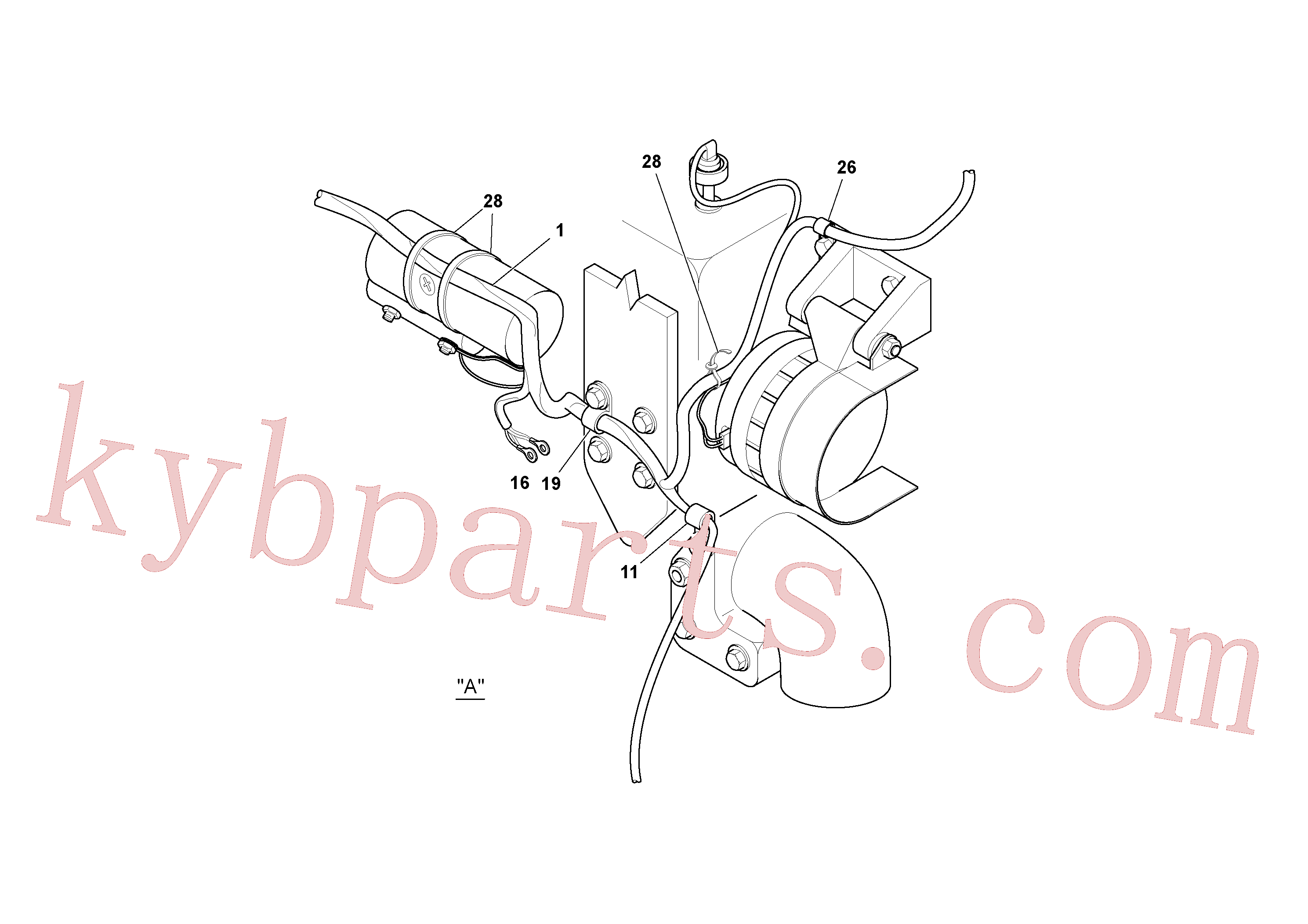 RM59117333 for Volvo Cable Harness Installation(1052645 assembly)
