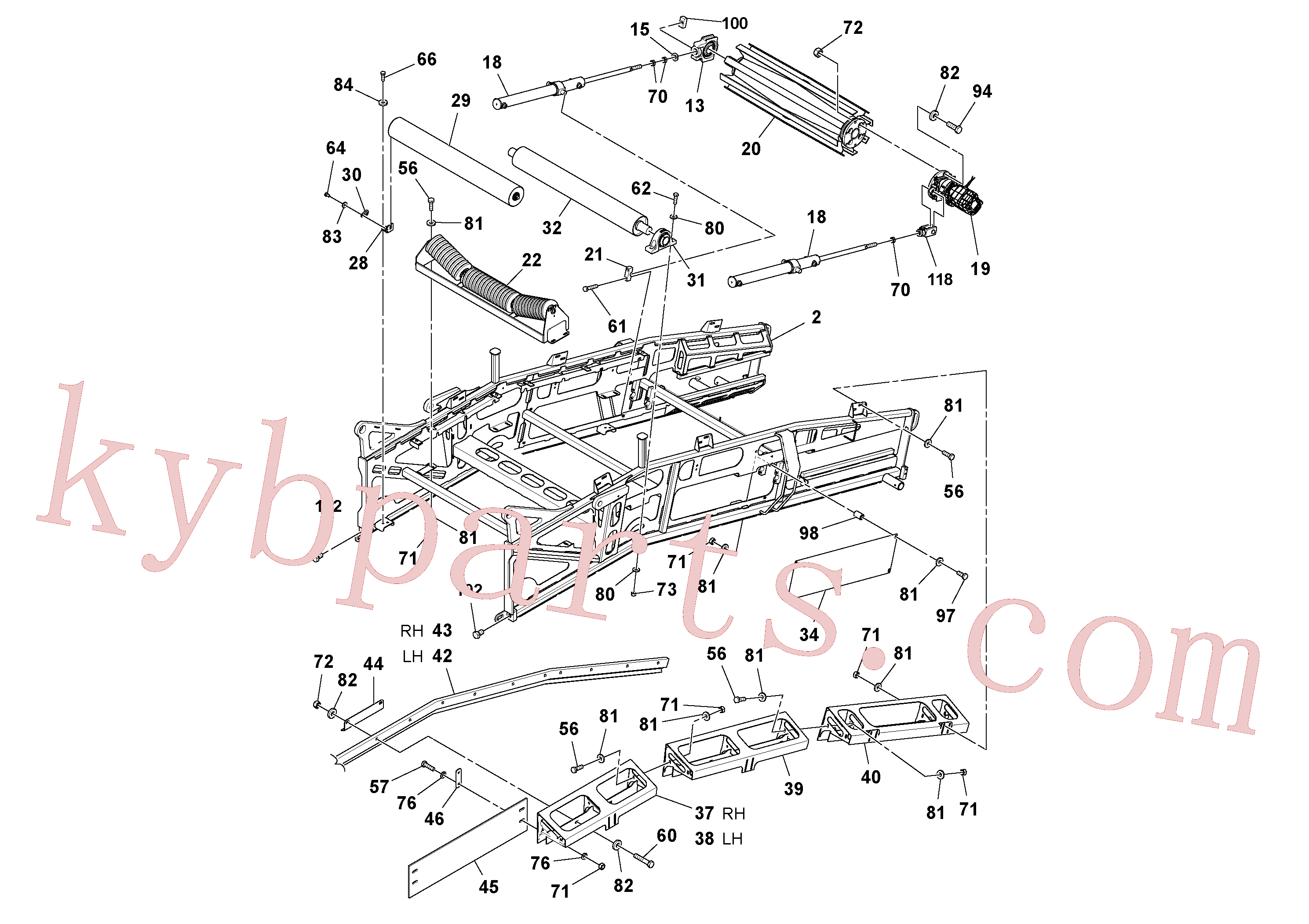 RM96716345 for Volvo Conveyor Assembly(1054530 assembly)