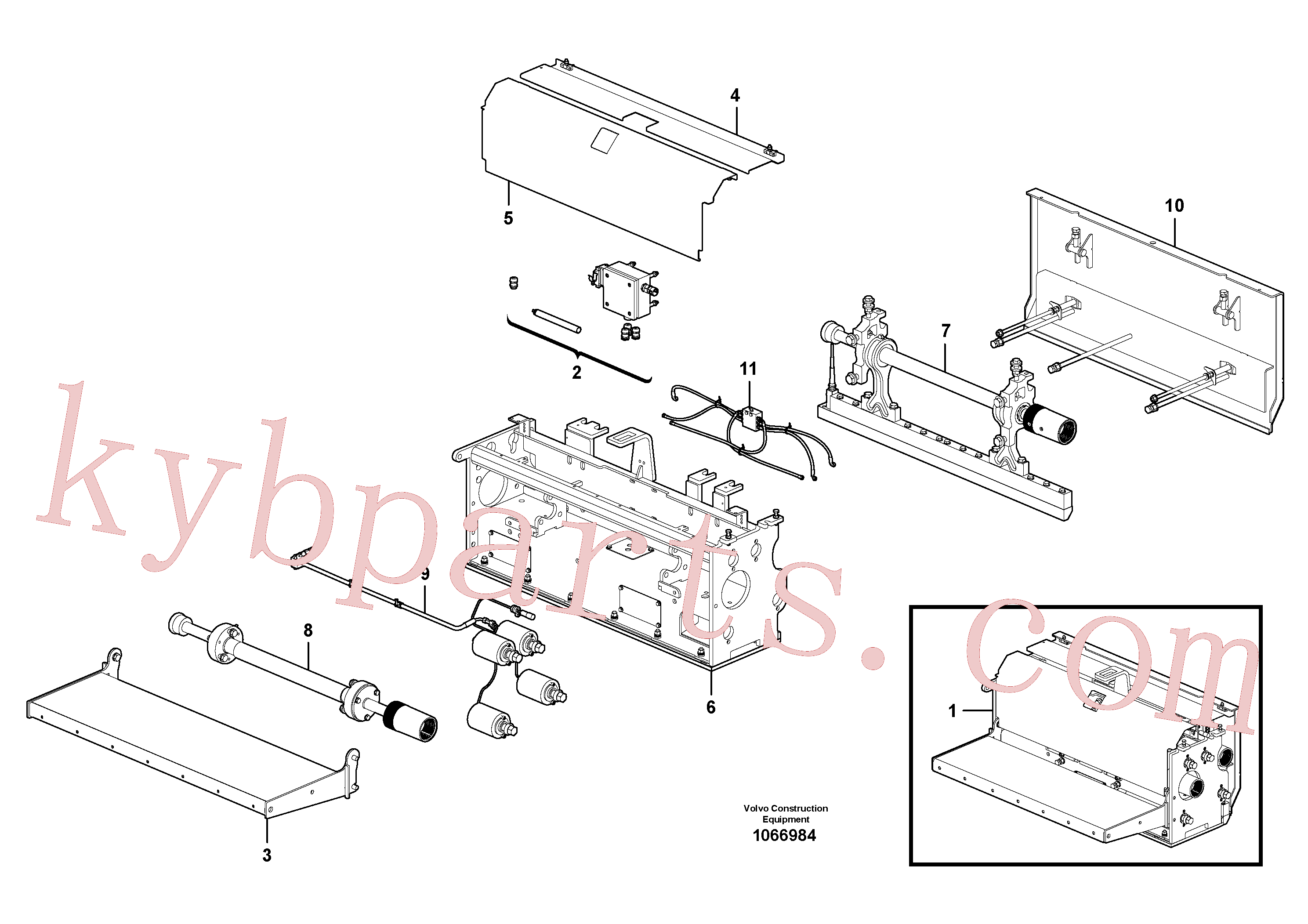 RM80707698 for Volvo Extension(1066984 assembly)