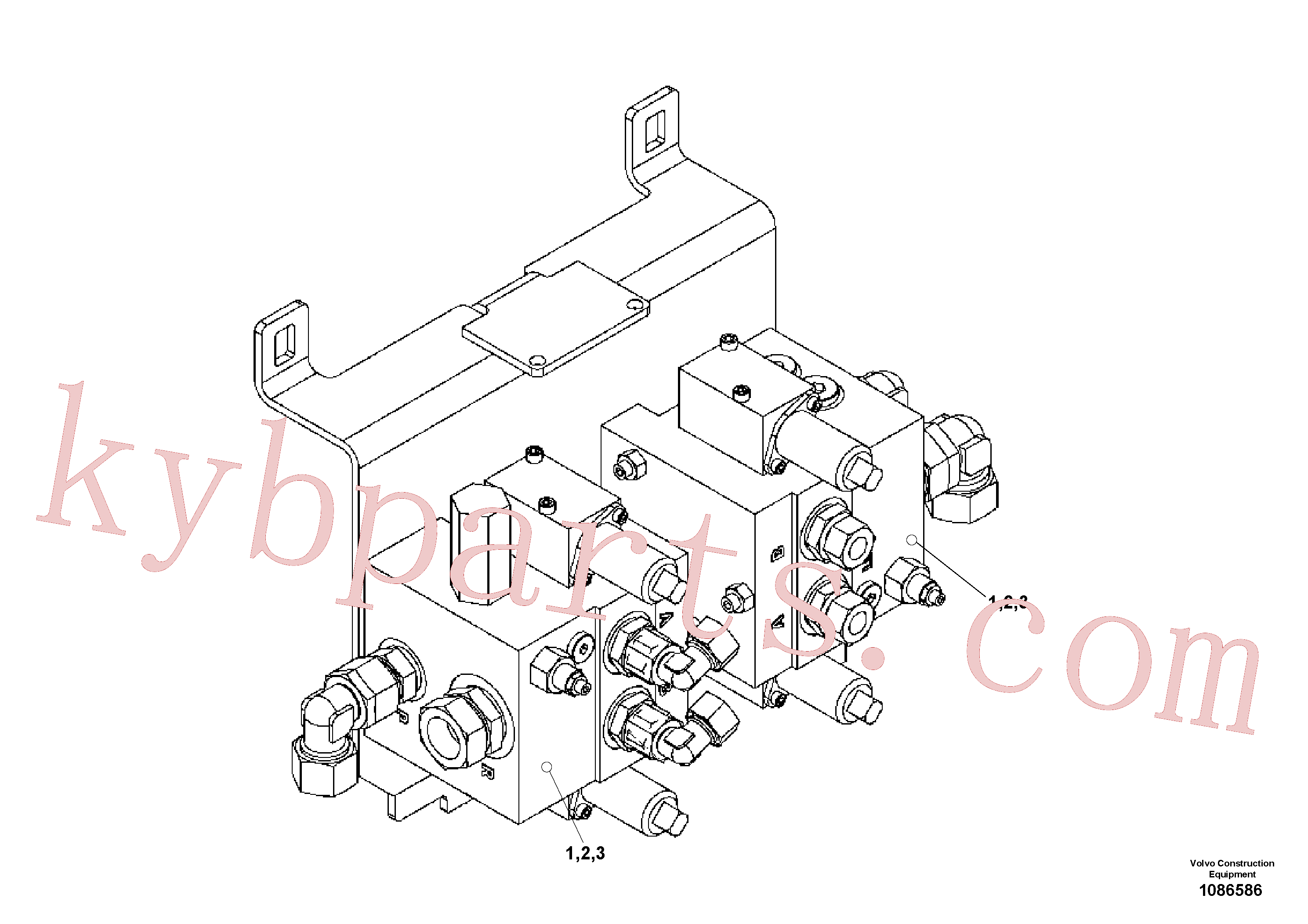 RM80881147 for Volvo Valve block(1086586 assembly)