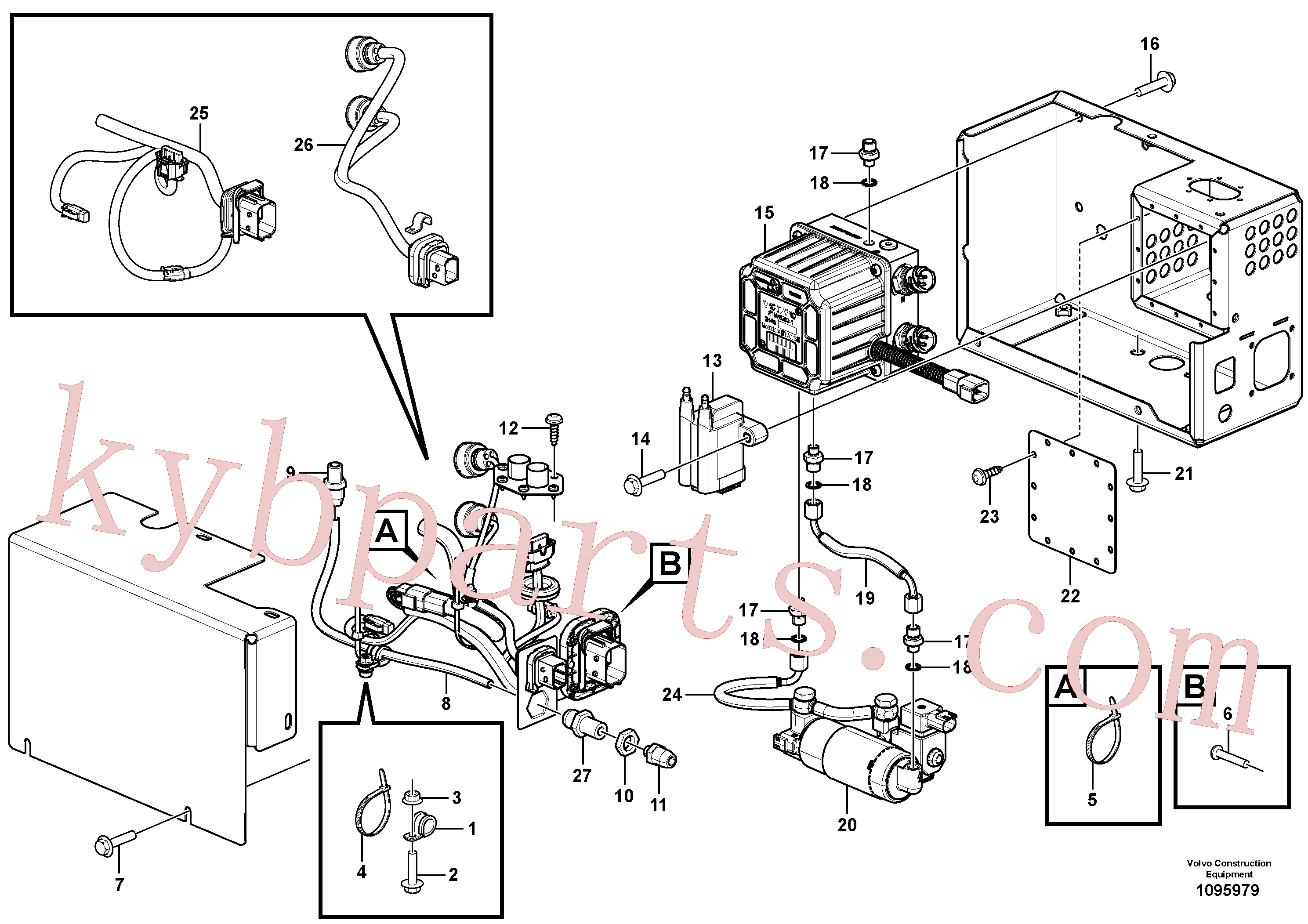 VOE980832 for Volvo Aftertreatment Support Unit(1095979 assembly)