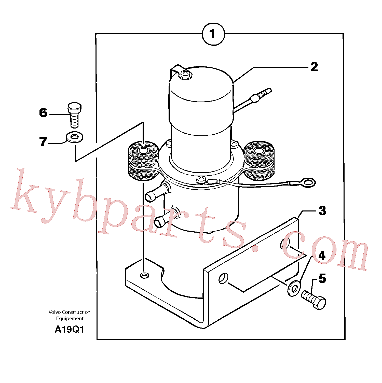 PJ4380033 for Volvo Fuel pump(A19Q1 assembly)
