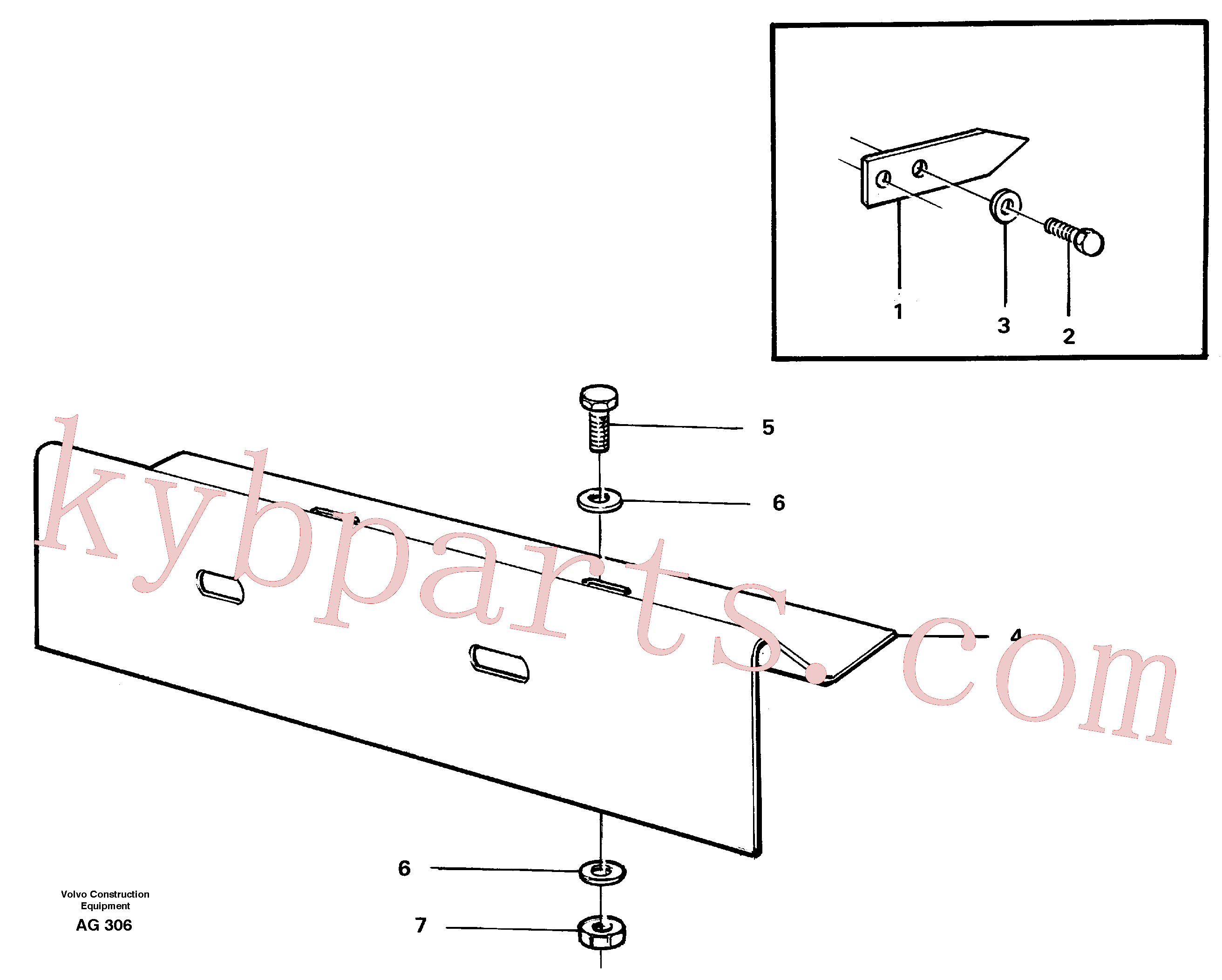 VOE976943 for Volvo German version(AG306 assembly)
