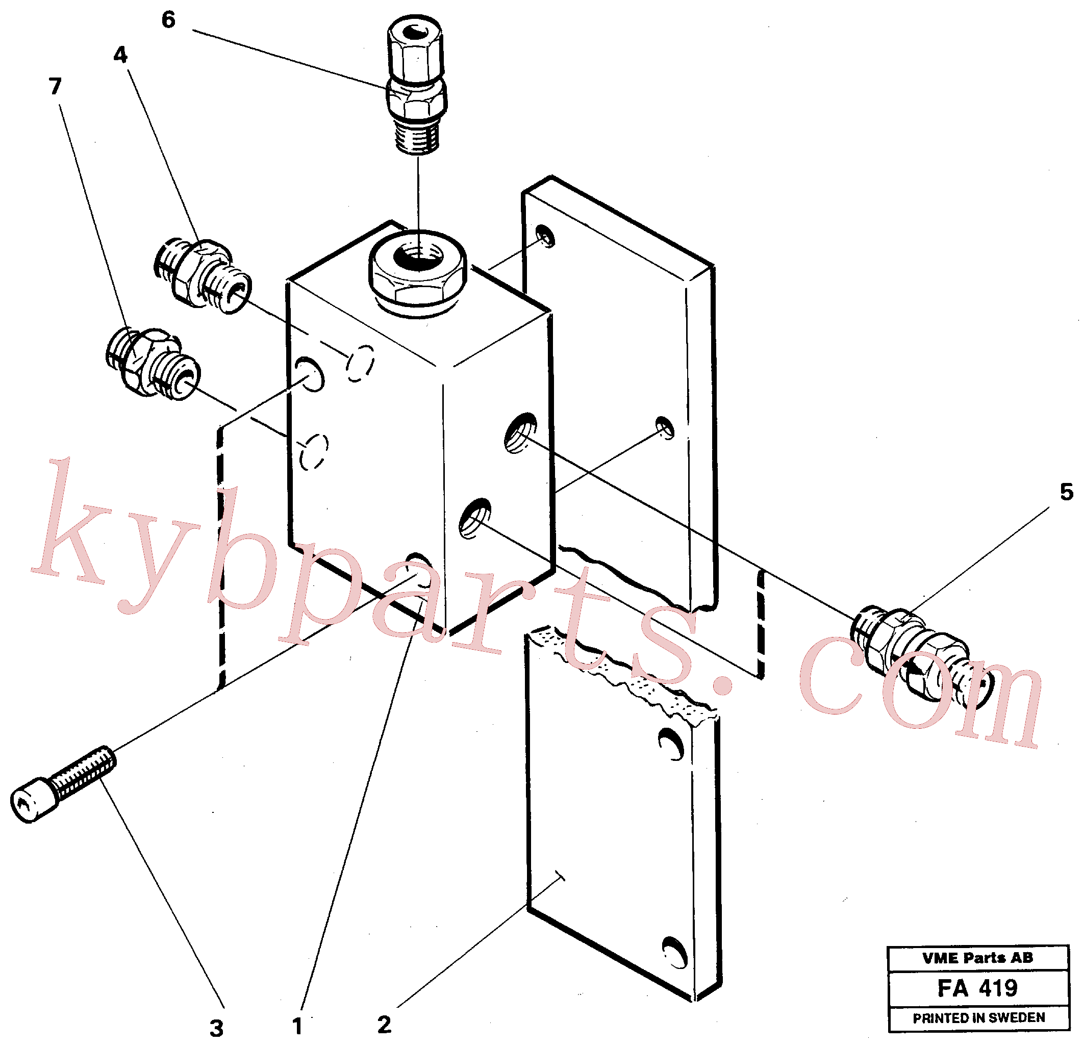 VOE14215718 for Volvo Relay valve(FA419 assembly)