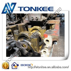 Second hand top quality cylinder body 6D170 engine block fit for truck