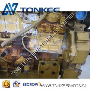 High quality used engine assy C6.4 complete engine for CAT 320D
