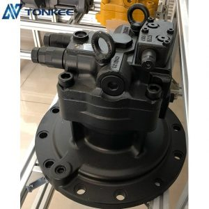 New swing gearbox with motor DM5X180CHB-10A-60D top performence rotation reductor M5X180CHB SK350-8 genuine swing motor for KOBELCO SK350-8 SUMITOMO SH350-5