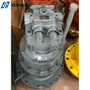Original new HITACHI 4398514 swing motor assy with gearbox HMGF11CB ZX200-3 rotation motor assembly ZAXIS 200LC swing device in stock