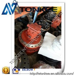 New swing gearbox with motor A6VE107HZ3-63W-VZL22XB-S rotation motor unit