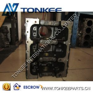 Hot sale cylinder body 3D84E-3 engine block in stock
