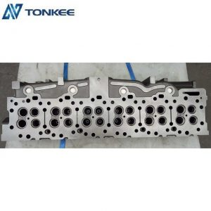High power density C15 cylinder head made in China professional engine cylinder head  engine parts cylinder head C15 for hydraulic excavator