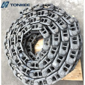 high power density EX200-5 track link unit EX200 undercarrige parts top performence track chain assy for HITACHI truck
