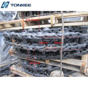 KOBELCO competitive price track chain SK135 durable track link assy for excavator SK120