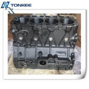 Made in china 4TNE98 cylinder block & engine cylinder body fit for hydraulic excavator