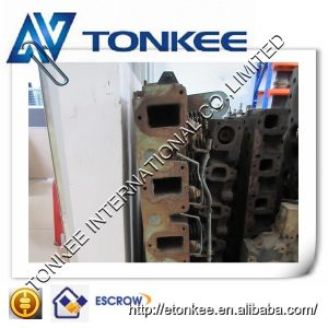 original used cylinder head 6221-11-1100 (S6d108 ) cylinder cover for KOMATSU PC300-5